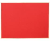[Korková tabuľa far.2 90x120 - Červená]