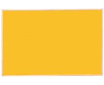 [Korková tabuľa far.3 100x150  - žltá]