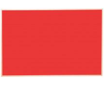 [Korková tabuľa far.3 100x150  - červená]
