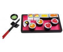[Dřevěný sushi set]