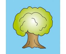 [Vankúšik s motívom - Listnatý strom]