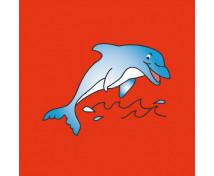 [Vankúšik s motívom - Delfín]