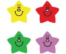[Nálepky - Usmievané hviezdy]