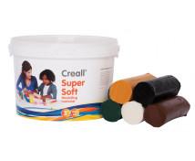 [Creall-ultra jemná mod. hmota - Safari mix,5 barev]