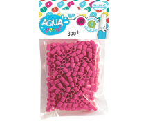 [Aqua korálky - ružové]