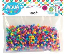 [Aqua korálky - barevný mix]