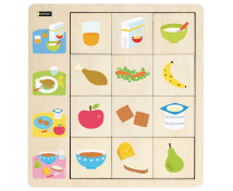 [Priraďovacie puzzle - Jedlo]