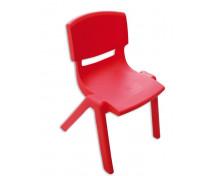 [Stolička plast. 35 cm červená]