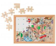 [Matematické puzzle - Sčítanie a odčítanie do 20, 2. časť (35 dielikov)]