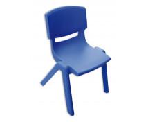 [Stolička plast. 35 cm modrá]