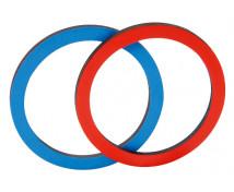 [Dvojfarebné magnetické krúžky, 20 ks]