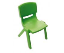 [Stolička plast. 35 cm zelená]