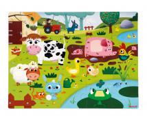 [Hmatové puzzle - Život na farmě]