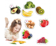[Baby puzzle - Zdravé jedlo]