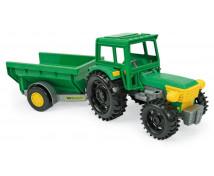 [Traktor z przyczepą]