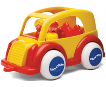 [Jumbo taxi se dvěmi figurkami]