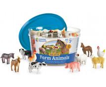 [Počítanie so zvieratkami - Farma]