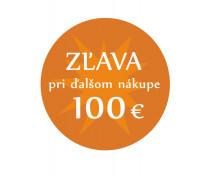 [Zľava 100 €]