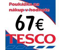 [TESCO POUKÁŽKY V HODNOTE 67 €]