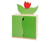 [Tulipán - Široká skříňka]