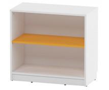 [Skříňka mini - policová - oranžová]