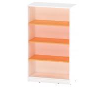 [Skříňka maxi - policová - oranžová]