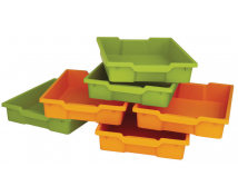 [Plastové kontejnery malé, sada 8 ks - oranžové]