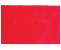 [Jednokolorowy dywan 1,5 x 1 m - czerwony]