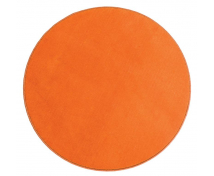 [Jednokolorowy dywan - średnica 1,5 m - pomarańczowy]