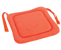 [Sedák na stoličku 2 - oranžový 32x32 cm]