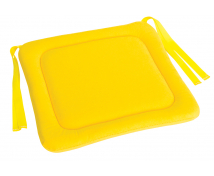 [Sedák na stoličku 3 - žltý 34x34 cm]