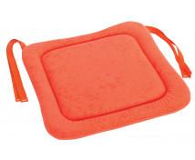 [Sedák na stoličku 3 - oranžový 34x34 cm]