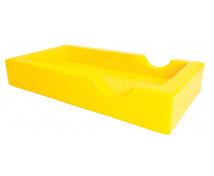 [Łóżeczko piankowe - żółte]