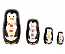 [Matrjoška - Rodina tučňáků]