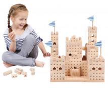 [Dřevěná stavebnice BUKO - Malý hrad]