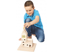 [Dřevěná stavebnice BUKO - Malá startovací sada]