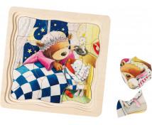 [Vrstvové puzzle - Malý medvídek]
