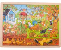 [Puzzle - Naše zahrada]