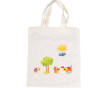 [Přírodní bezbarvá taška (38 x 42 cm)]
