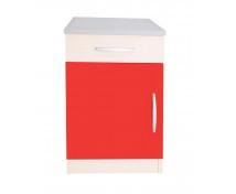 [Elegantní skříňka se zásuvkou - červená]