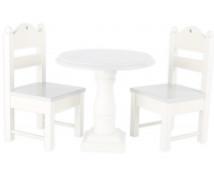 [Bílý nábytek pro panenky]