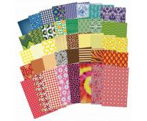 [Papír s textilním vzorem]