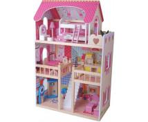 [Domček pre bábiky s nábytkom]