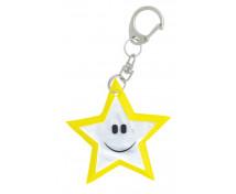 [Reflexní přívěsek - Hvězda (6 x 6 cm)]
