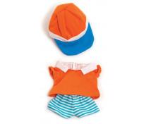 [Oblečenie pre bábiky - 21 cm - Oranžová súprava pre chlapca]