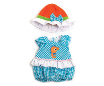 [Ubranka dla lalek - 32 cm z kapelusikiem dla dziew]