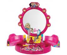 [Mini toaletní stolek s příslušenstvím Barbie]
