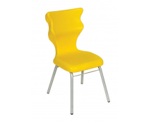 [Dobrá stolička - Classic - výška sedu 43 cm - žltá]