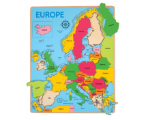 [Vkladací puzzle - Mapa Evropy]