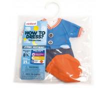 [Oblečenie pre bábiky - 21 cm - Modrá súprava pre chlapca]
